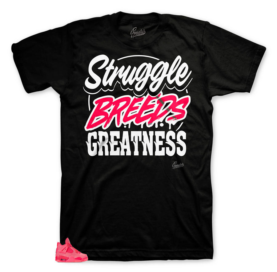 Jordan 4 hot punch sneaker tees | Fresh tees to match shoes.