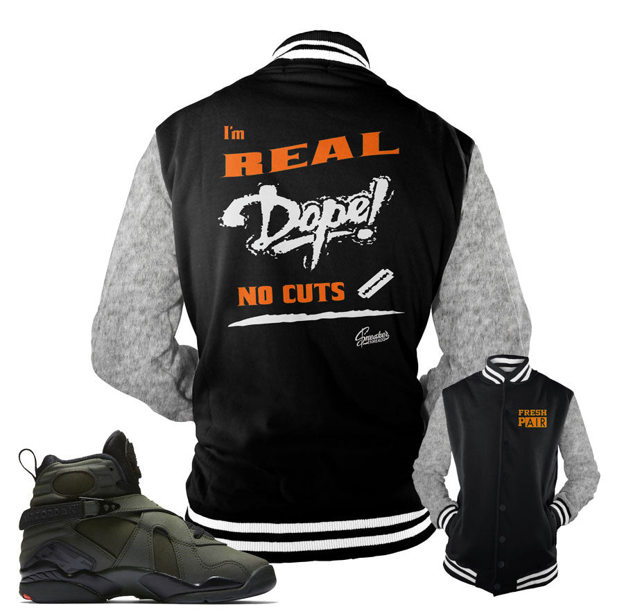Jordan 8 take flight jackets match retro 8 take flights.