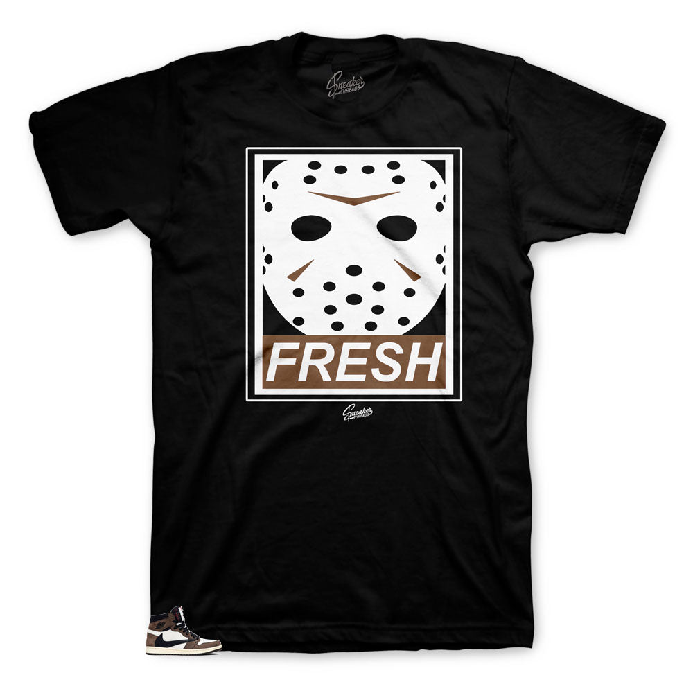 Fresh to death shirt to match Jordan 1 Cactus Jack