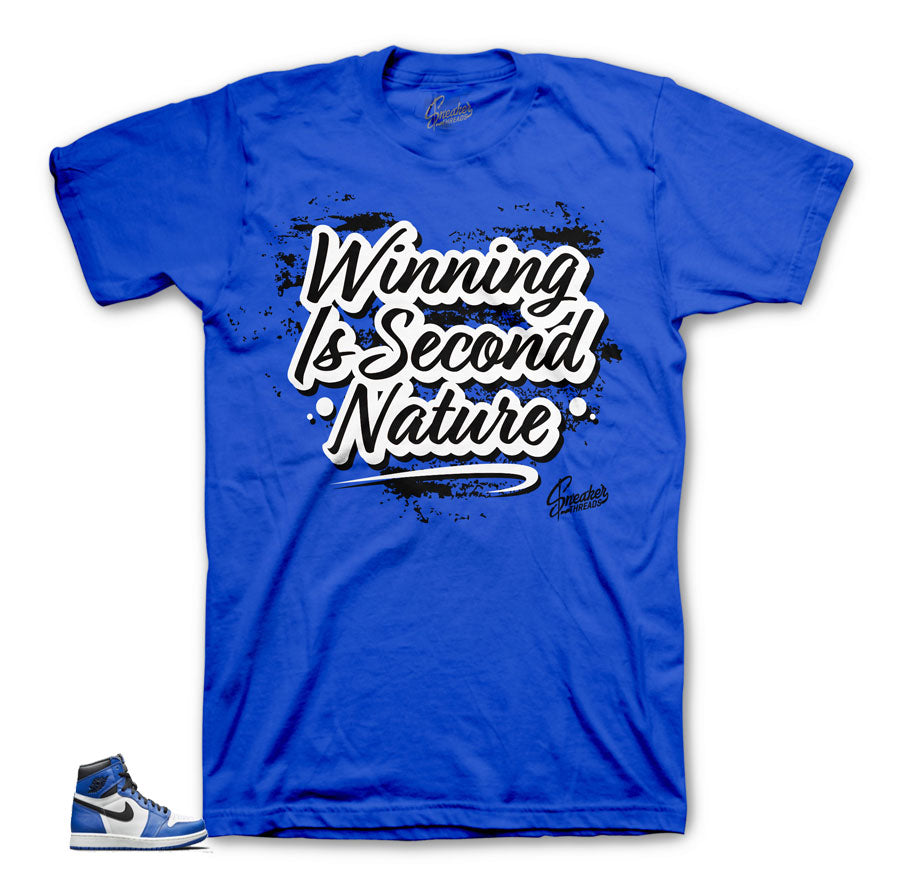 Jordan 1 game royal shirts match | Official sneaker tees website.