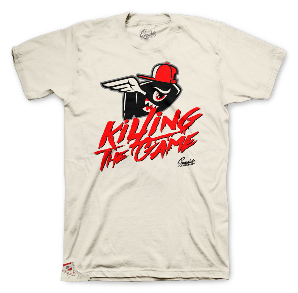 Jordan 1 Phantom's killing the game shirts best collection to match sneakers