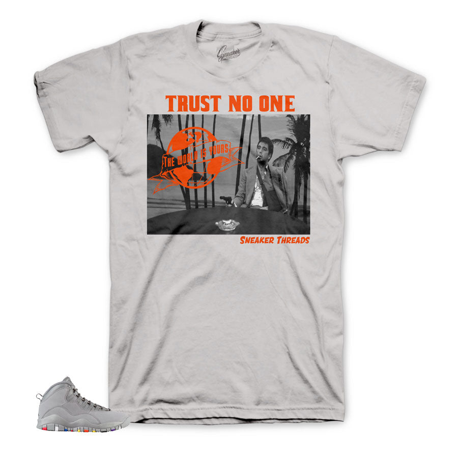 Jordan 10 cool grey tees | Sneaker matching shirts for retro 10.
