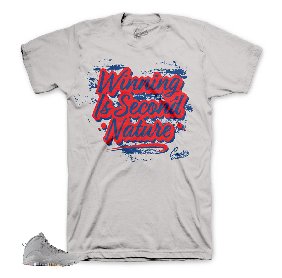 Jordan 10 cool grey tees | Sneaker threads official matching tees.