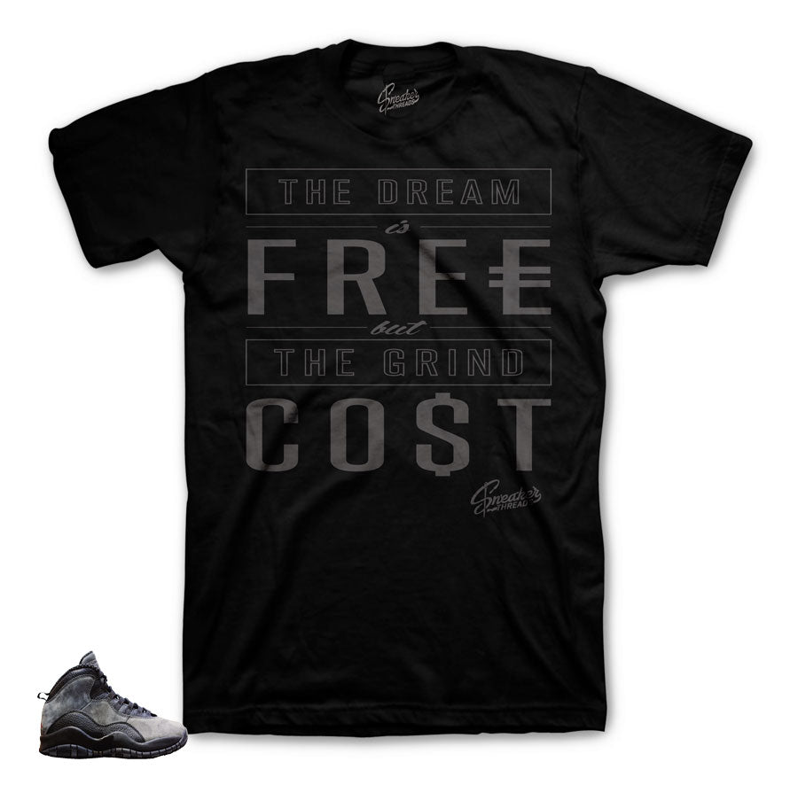 Jordan 10 shadow shirts match | Retro 10 sneaker tees.