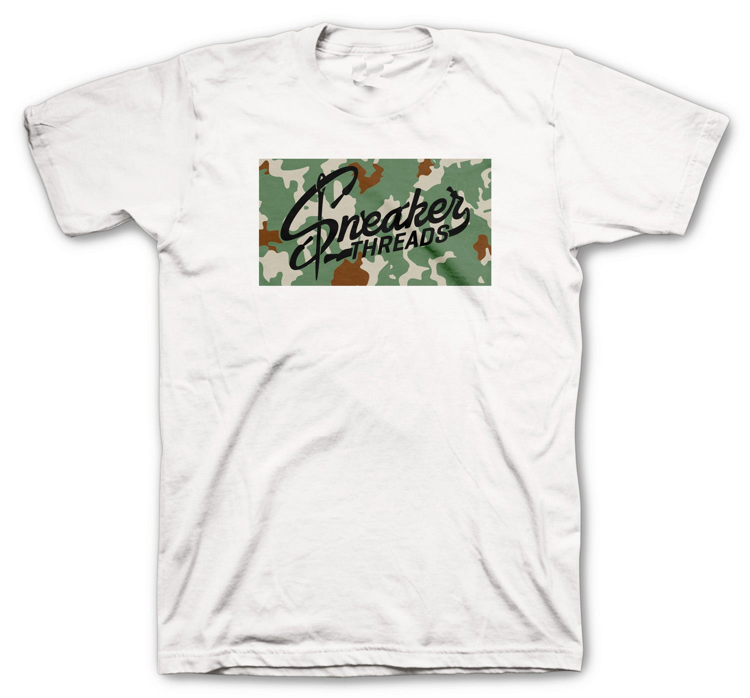 shirt created to match perfectly with Jordan 10 camo desert clay collection