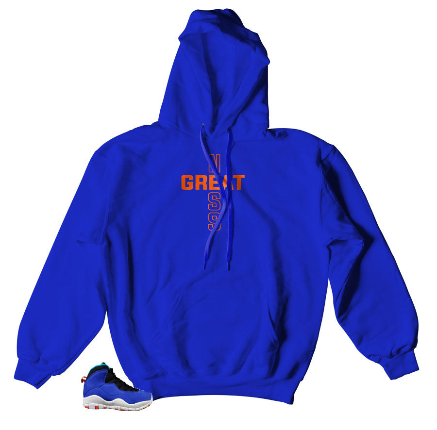 Royal Hoody for Jordan 10 Tinker