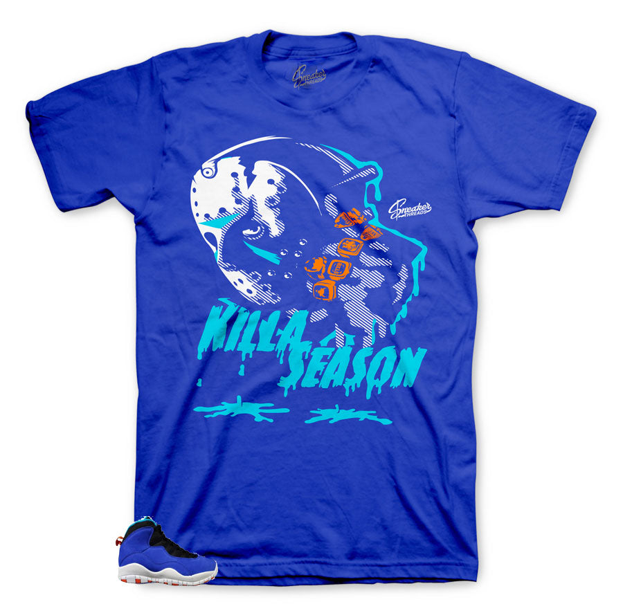 Killer cool shirt to match Jordan 10 Tinker Huarache