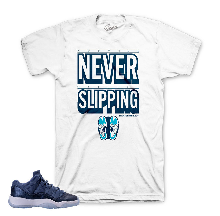 Jordan 11 blue moon shirt match | sneaker match tees