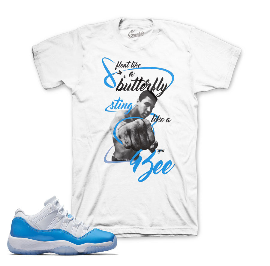 Jordan 11 University Shirt - Sting - White