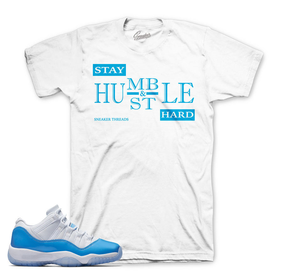Jordan 11 University Shirt - Humble - White