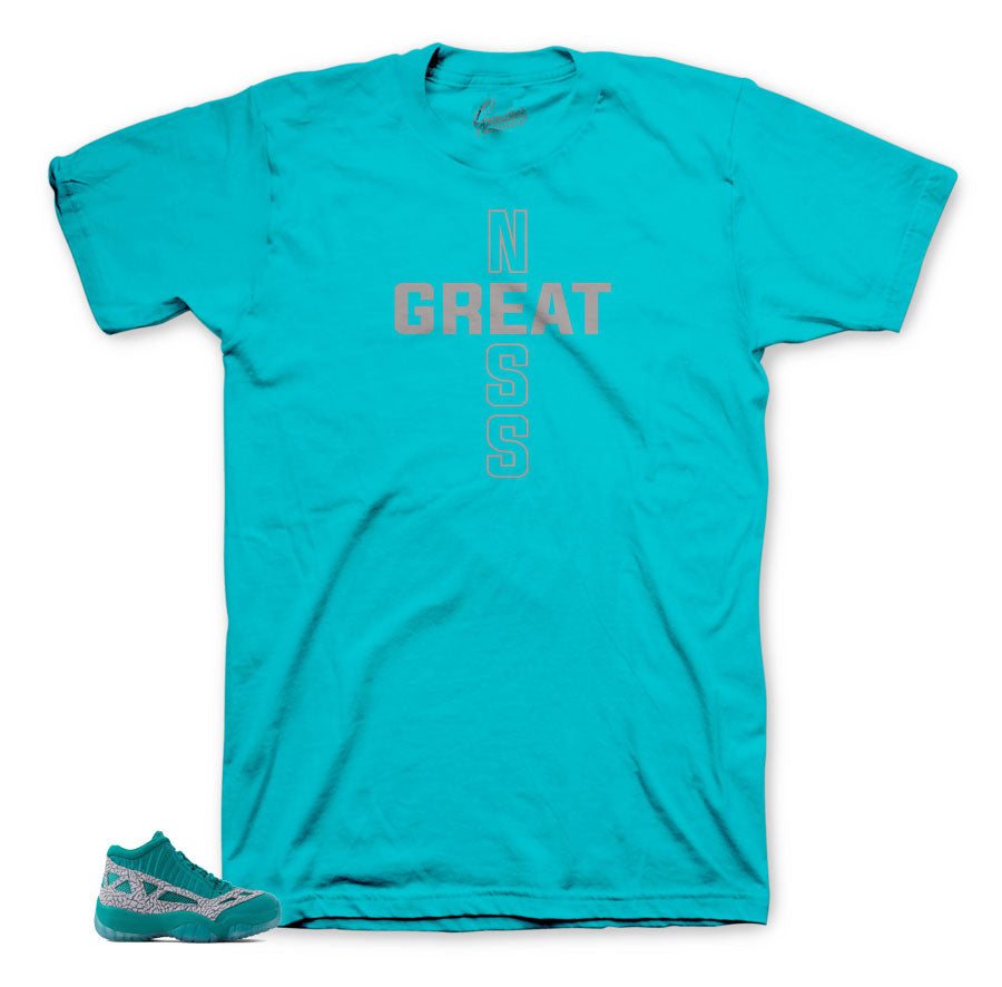 Jordan 11 ie rio teal shirts and tees to match retro 11 low teal.