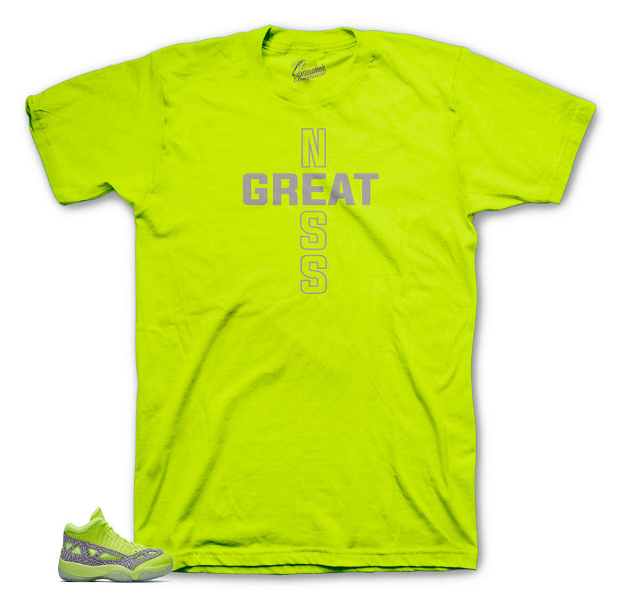 Jordan 11 ie volt sneaker shirts and tees match retro 11 | Sneaker threads