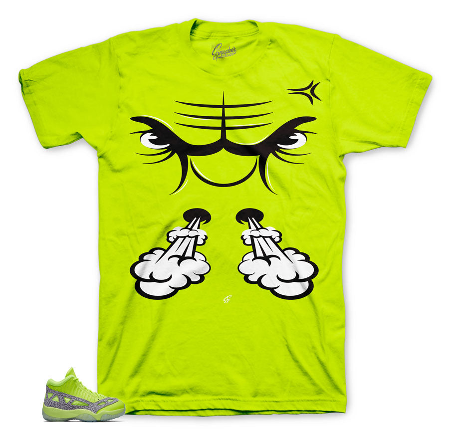 Jordan 11 ie volt sneaker tees match reto 11 shoes.