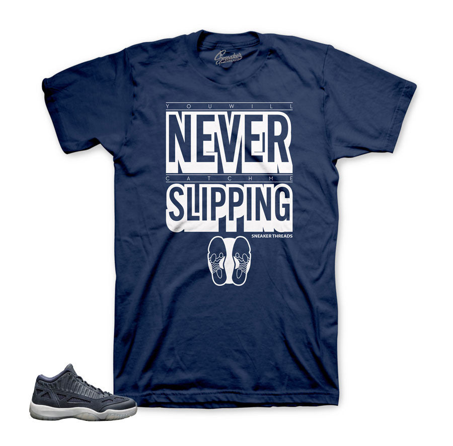 Tees match Jordan IE obsidian 11 shoes | official shirts