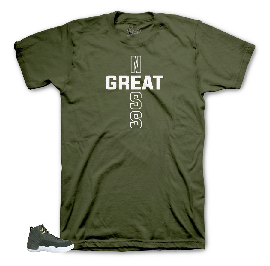 Greatness Cross Camo Shirt to match Cp3 12's