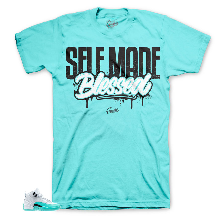 Light Aqua 12 Self Made shirt