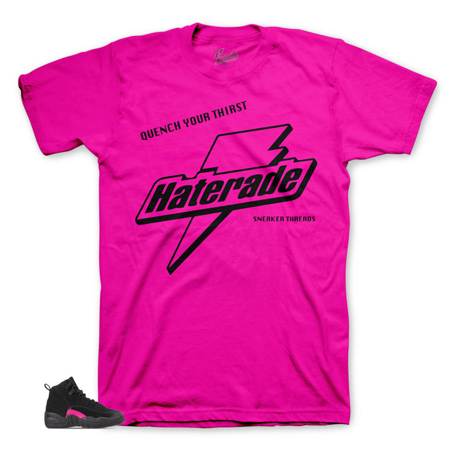 Haterade tee to match perfect with Jordan 12 Rush Pink