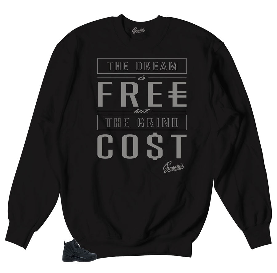 Cost Sweaters to match Jordan 12 Winterized sneakers
