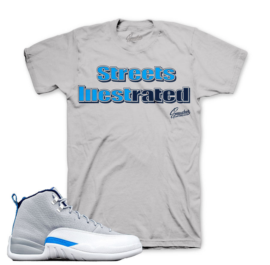 60362a352b16 Jordan 12 wolf grey tees match retro 12 wolf grey sneaker shirts.