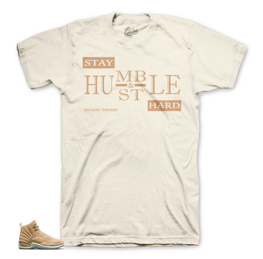 Vachetta tan Jordan 12 tees | The best clothing to match your kicks.