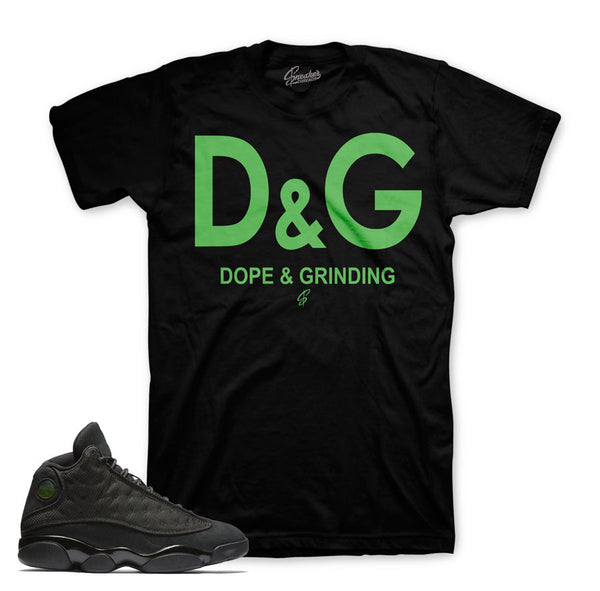Jordan 13 Black Cat Shirt - DG - Black