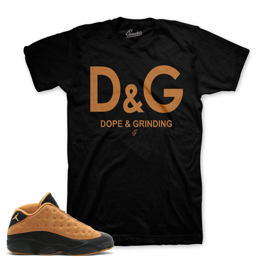 Chutney retro 13 sneaker match tees. Sneaker shirts store.