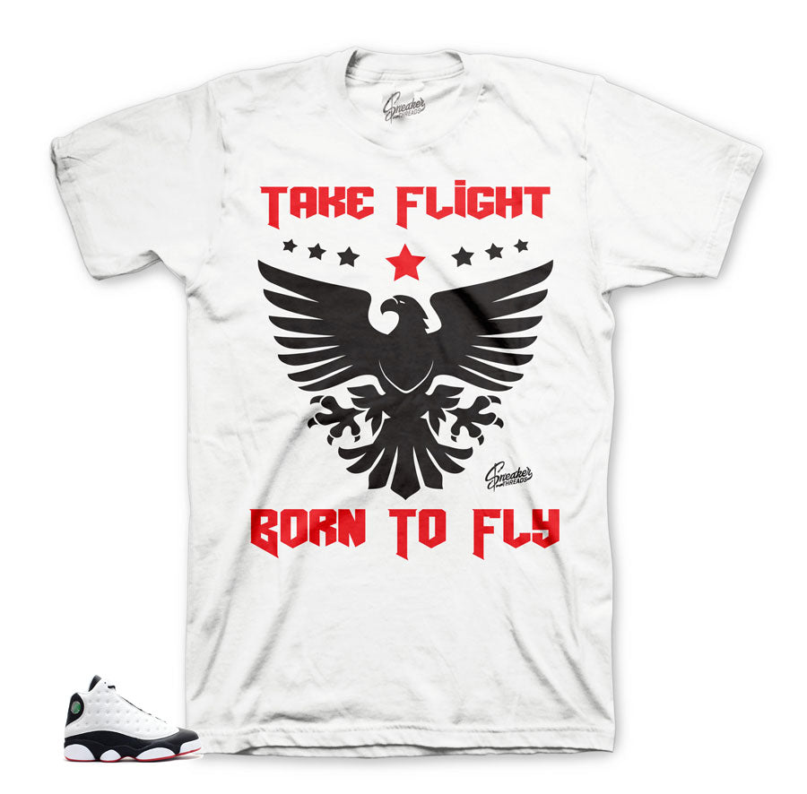 Born To Fly He Got Game matching tee