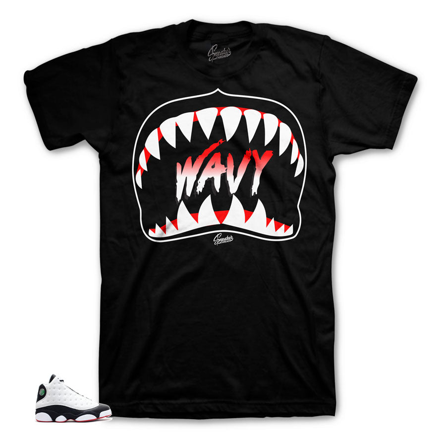 Jordan 13 He Got Game Wavy Shirt