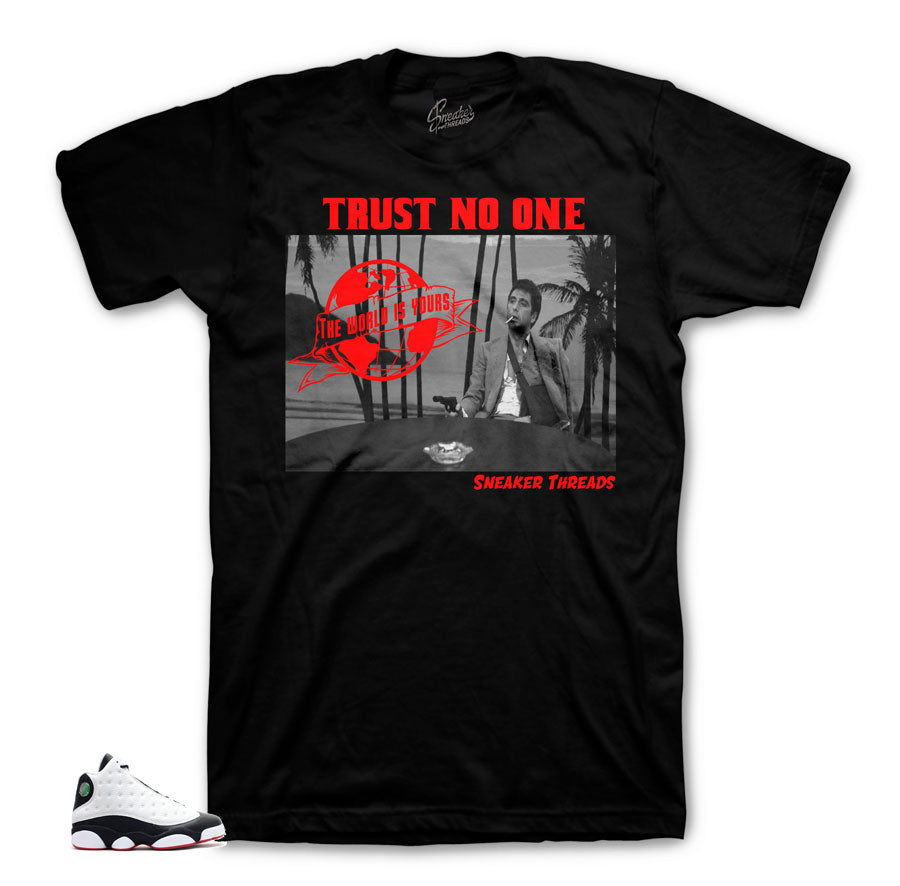 Jordan 13 He Got Game Scarface shirt
