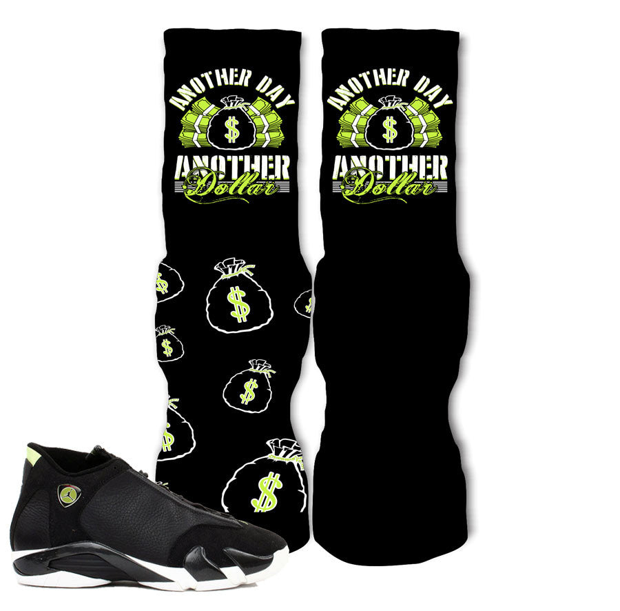 5a8032b4959e5f Socks match Jordan 14 indiglo retro 14 vivid green elite socks · Shirt