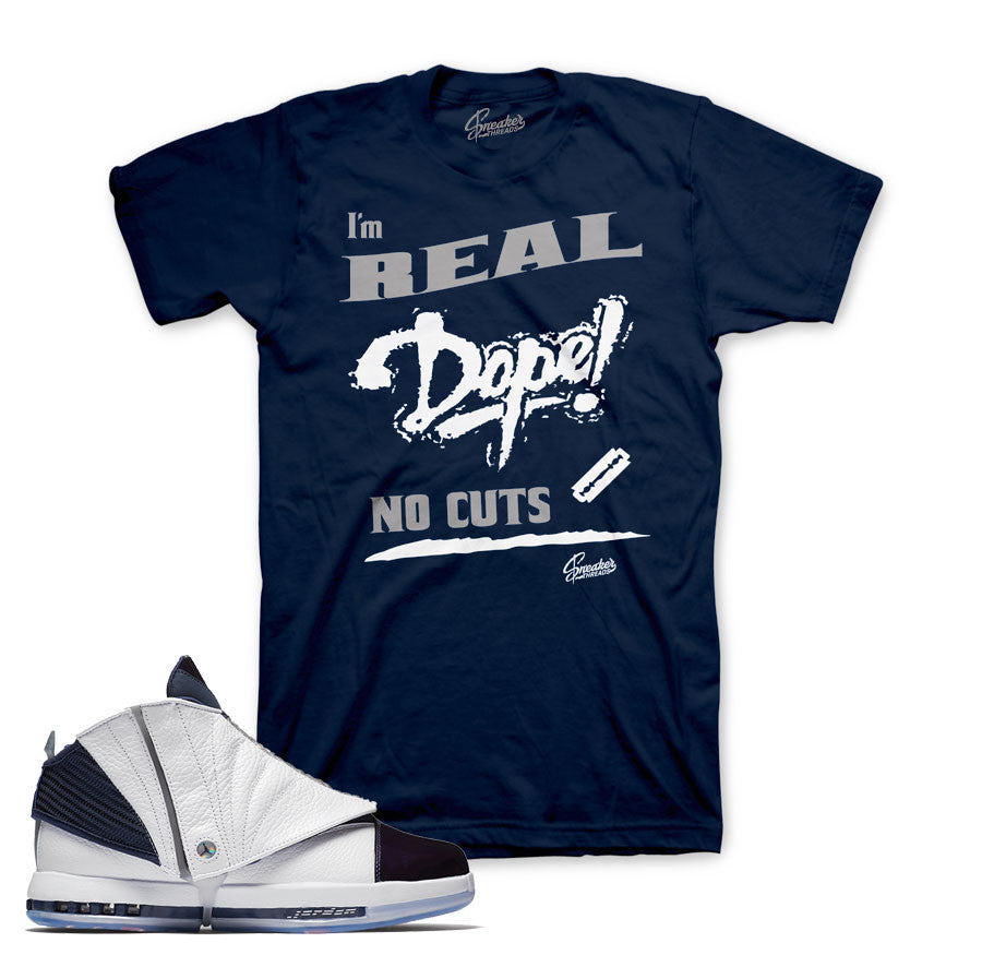 Shirts match Jordan 16 midnight navy retro 16 sneaker tees.
