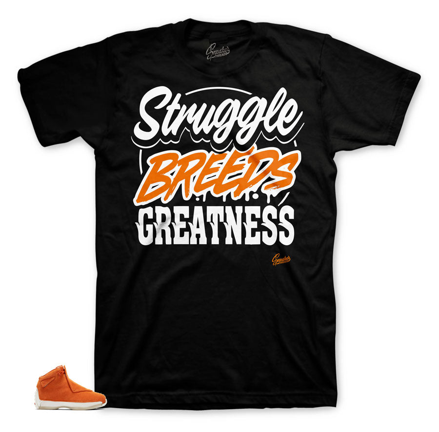 Best shirts to match Jordan 18 Orange Suede