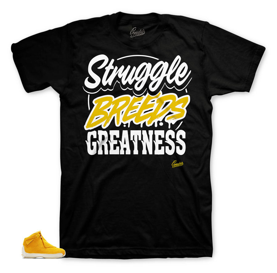 Best shirts for Jordan 18 Yellow Suede