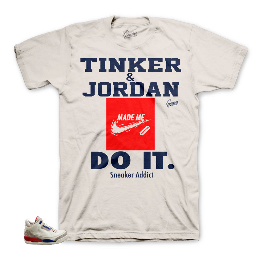 Sneaker addict matching tee for Charity Game 3's