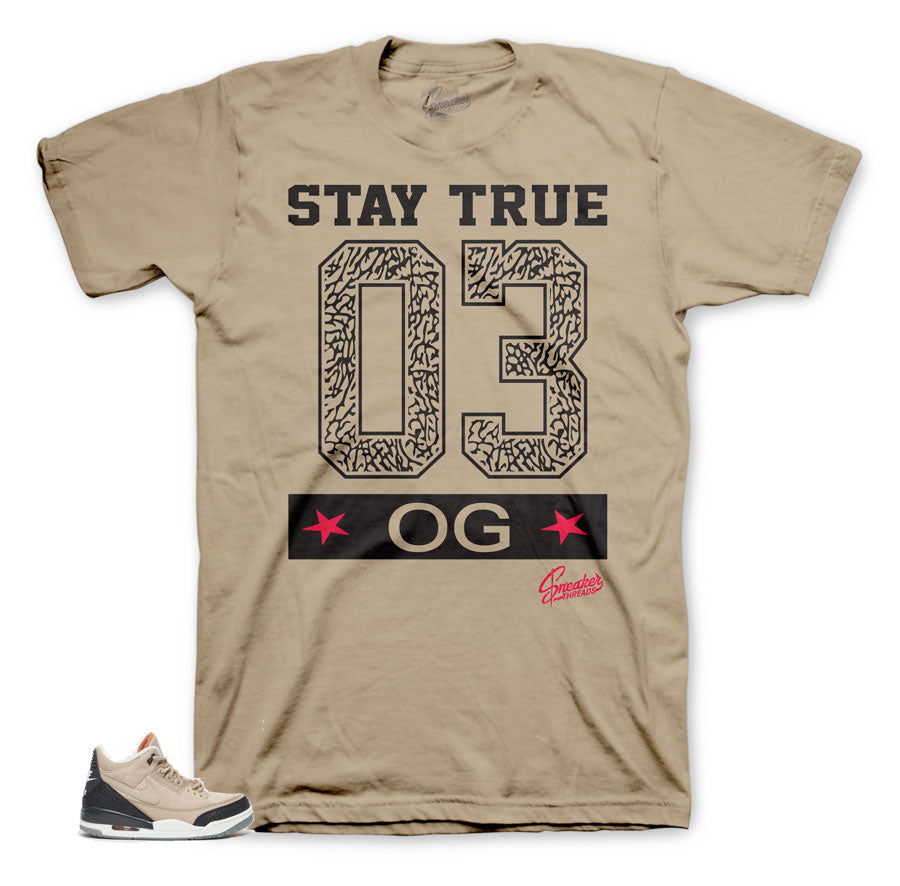 Jordan shirts to match Jordan 3 OG