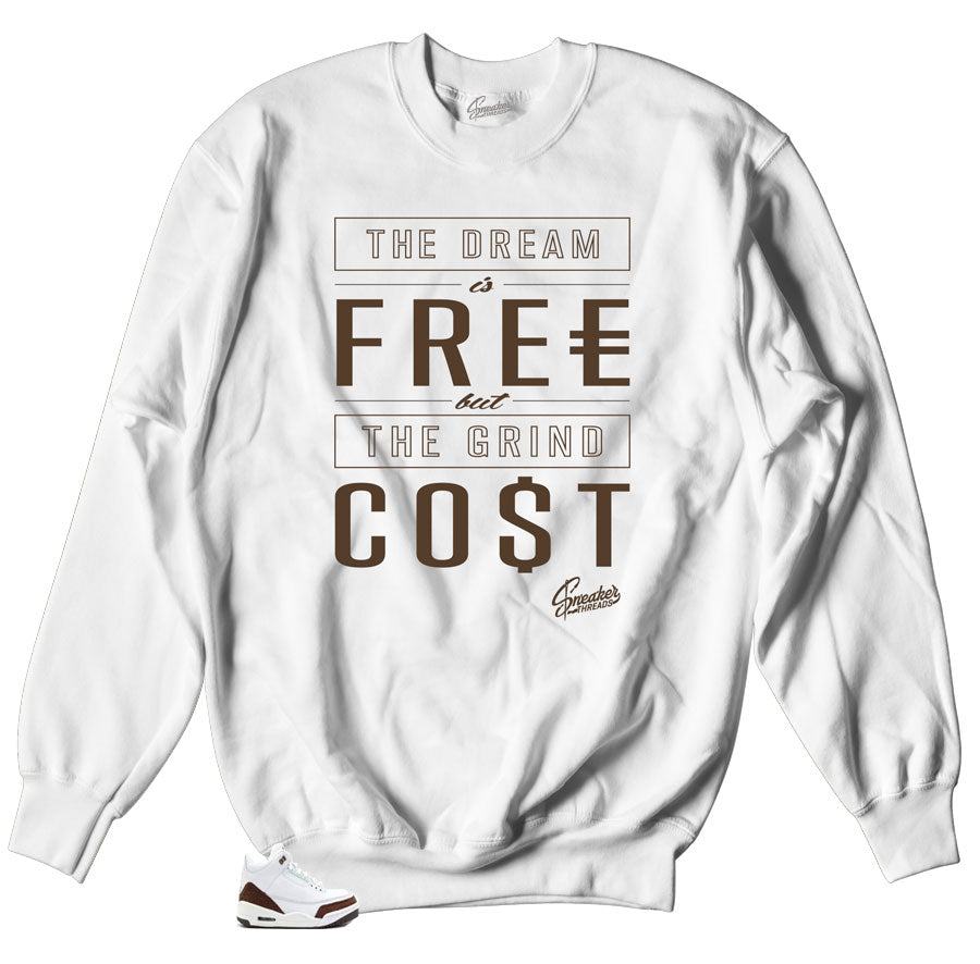 d51505b99af87d Home Jordan 3 Mocha Sweater - Cost - White. Share