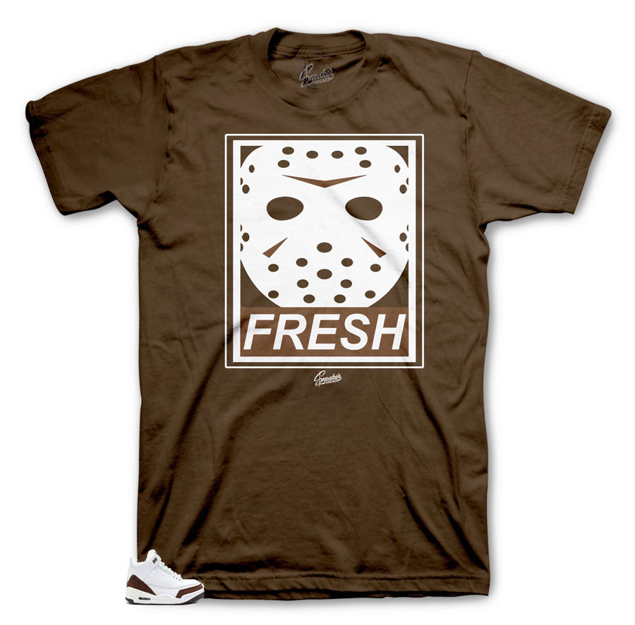 Jordan 3 Mocha Fresh to death jason shirt