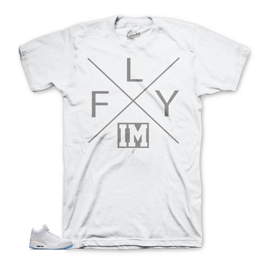 Flyest Shirt to match Triple White 3's