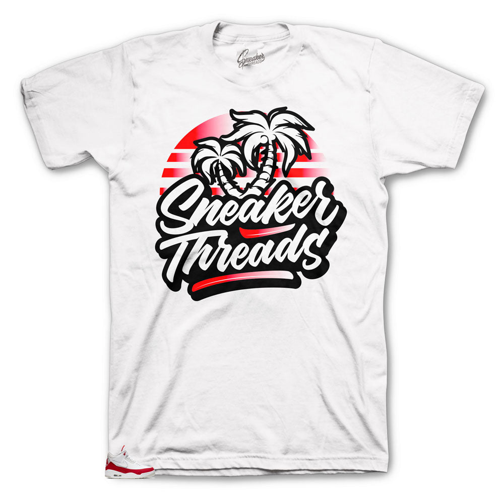 Spring Sneaker threads clothing brand collection to match Tinker 3's