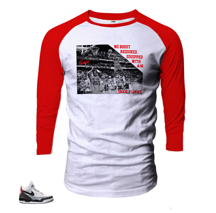 Jordan 3 tinker shirts match retro 3 tinker Hatfield.