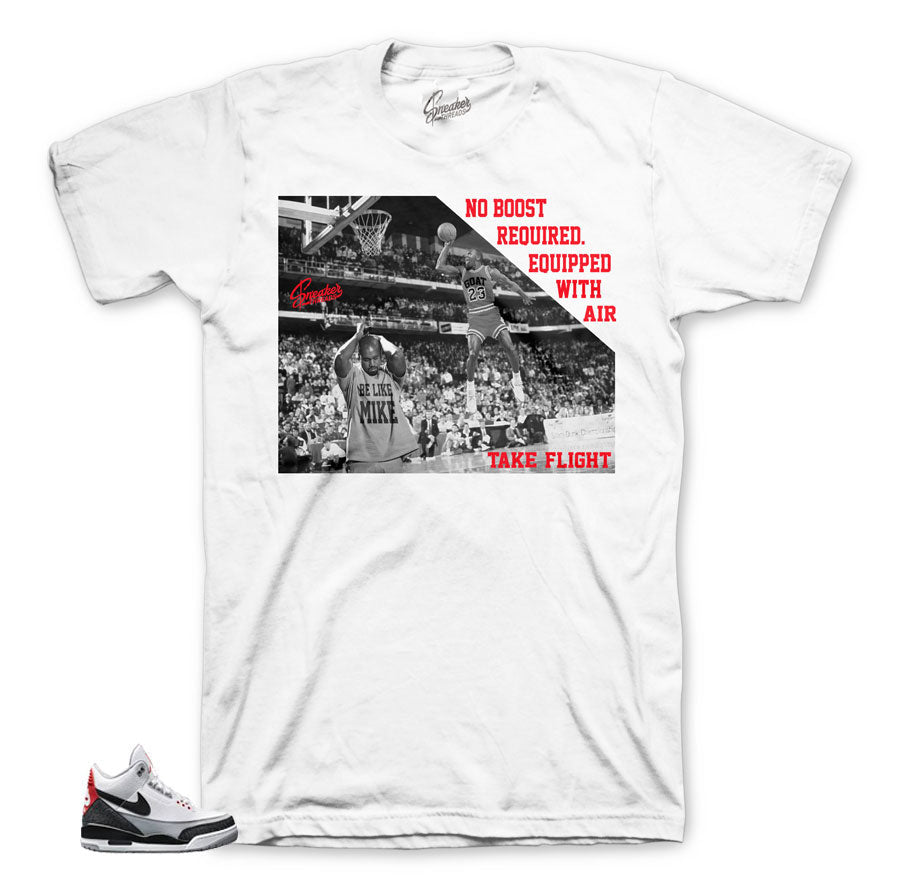 The best shirts to match Jordan 3 Tinker Hatfield shoes.