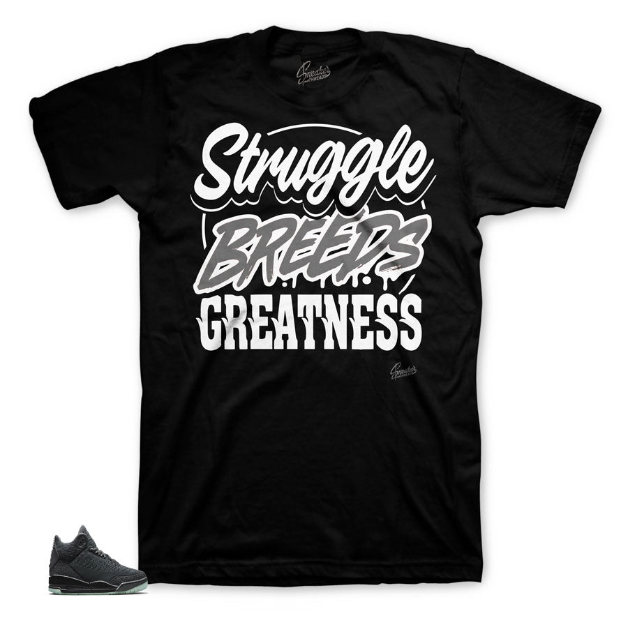 Jordan 3 Retro Flyknit Struggle Breeds Shirt