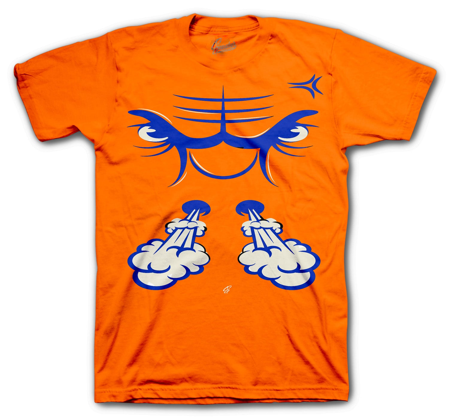 Jordan 3 retro sneakers have matching shirts designed to match with the retro Jordan knicks