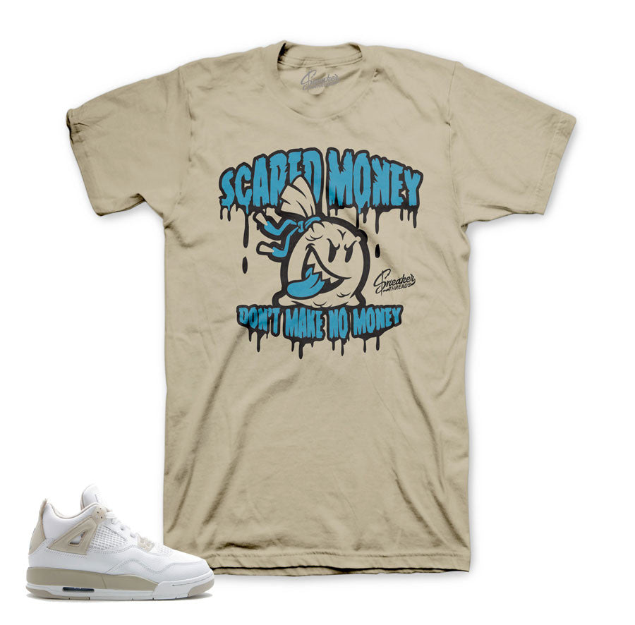 Jordan 4 Linen shirt match | Official sand 4 tee