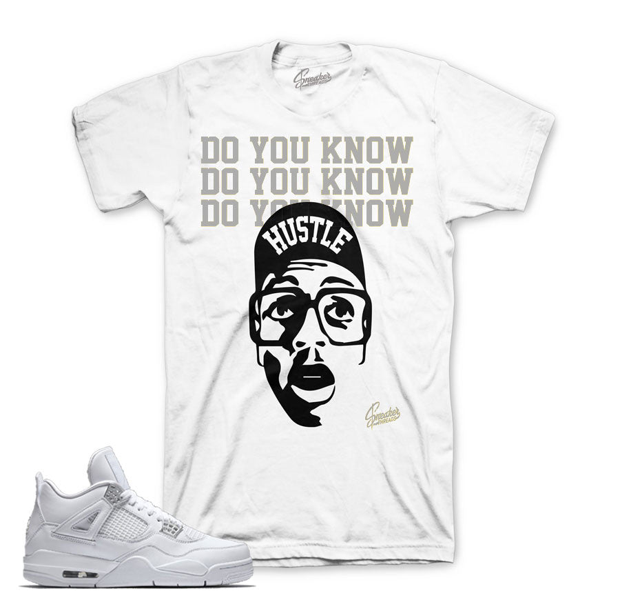 Jordan 4 pure money shirts match | Sneaker tees official