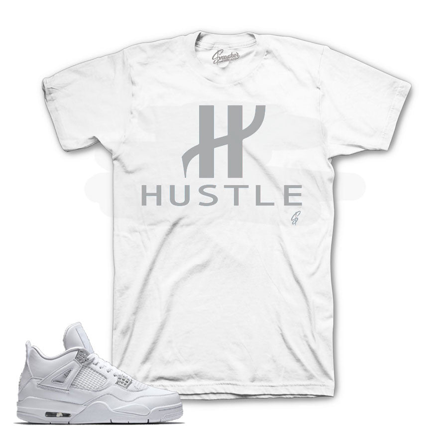 Jordan 4 pure money shirts match retro 4's sneakers.