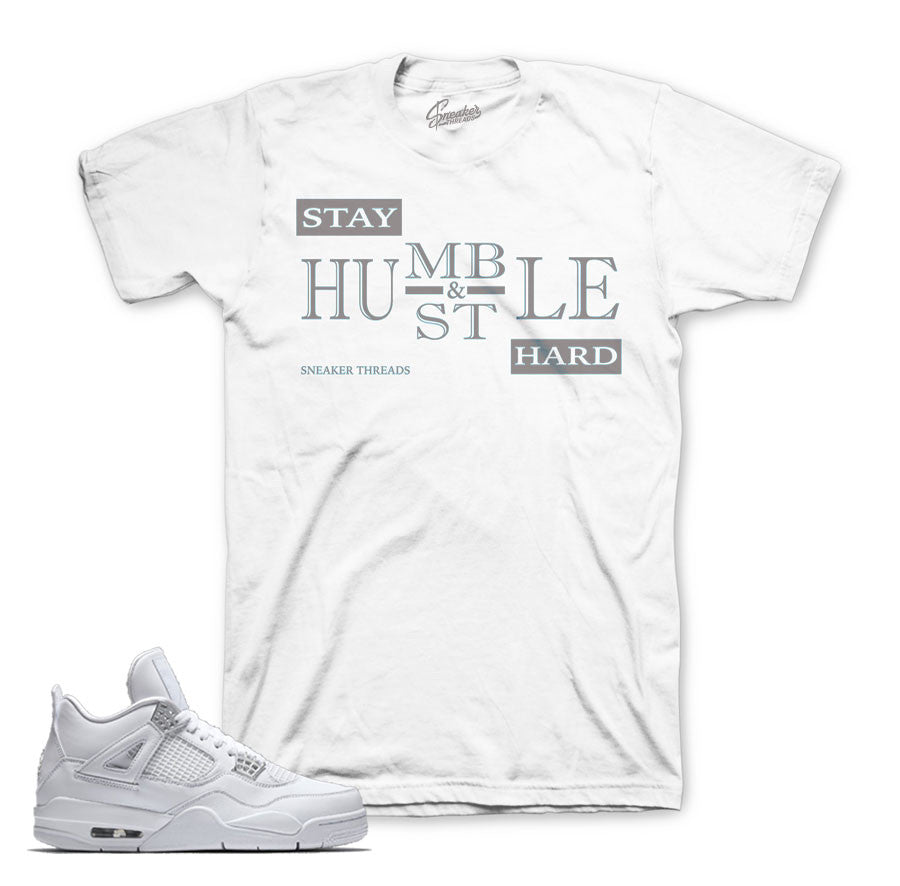 Jordan 4 pure money shirts match | Pure money clothing