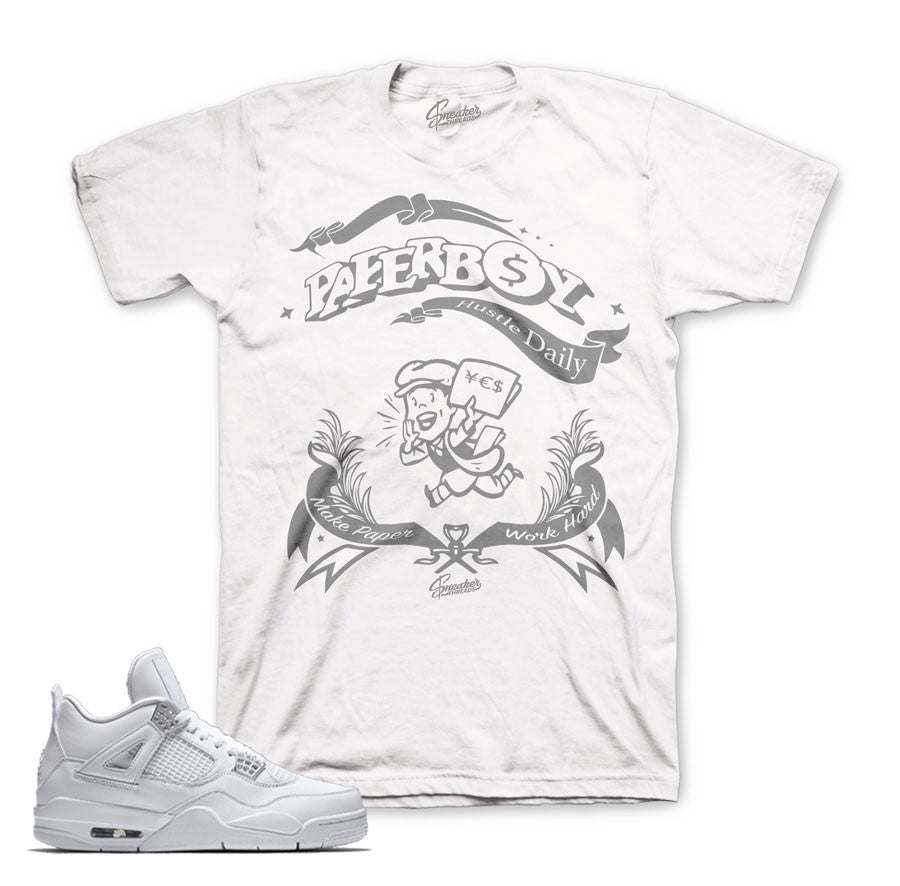 Jordan 4 pure money tee match | Sneaker threads tee