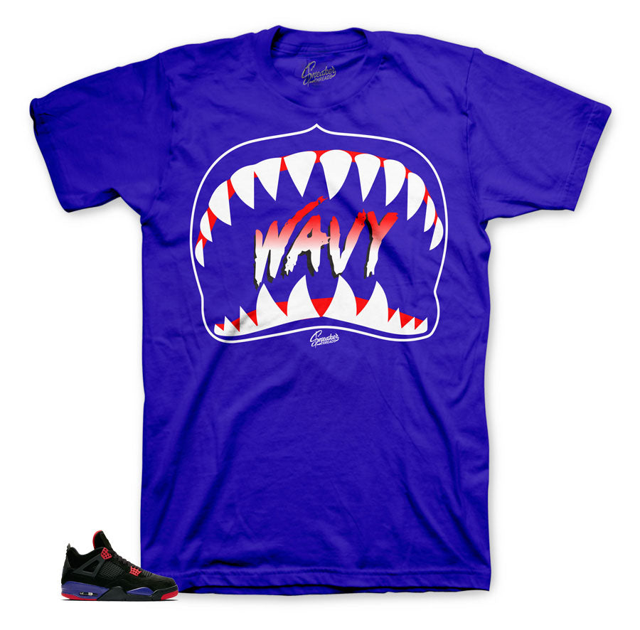 Jordan 4 clothing and tees to match retro 4 raptor shoes.