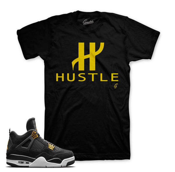 Jordan 4 Royalty Shirt - Big H - Black